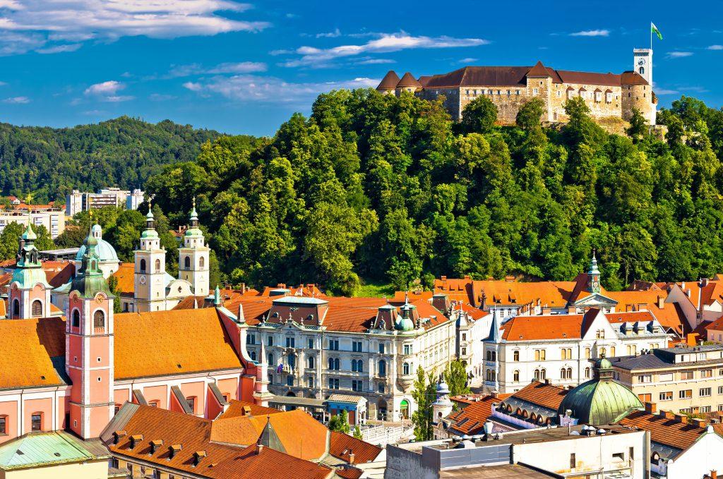 Castelo Medieval, Ljubljana, Eslovênia