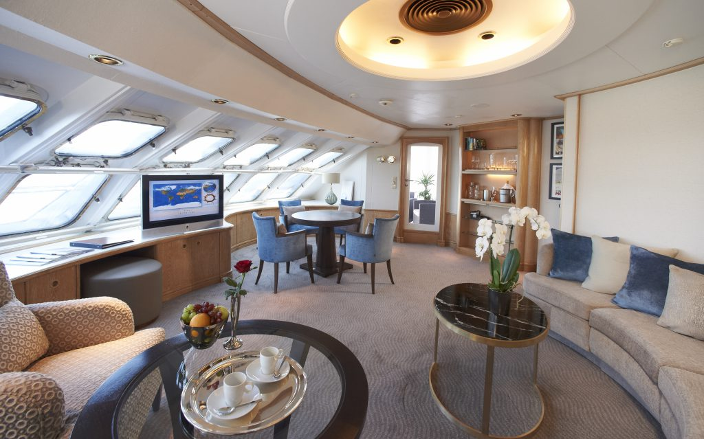 suite do Star Pride, Windstar cruises