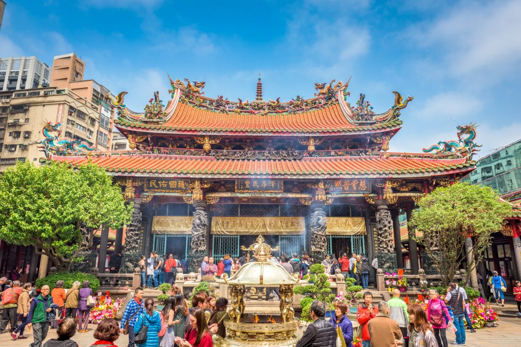 Templo Longhsan, Taipei, Taiwan