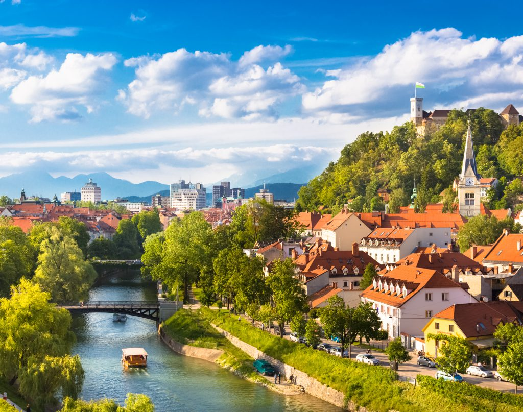 Ljubljana, Eslovênia - novos roteiros GBM