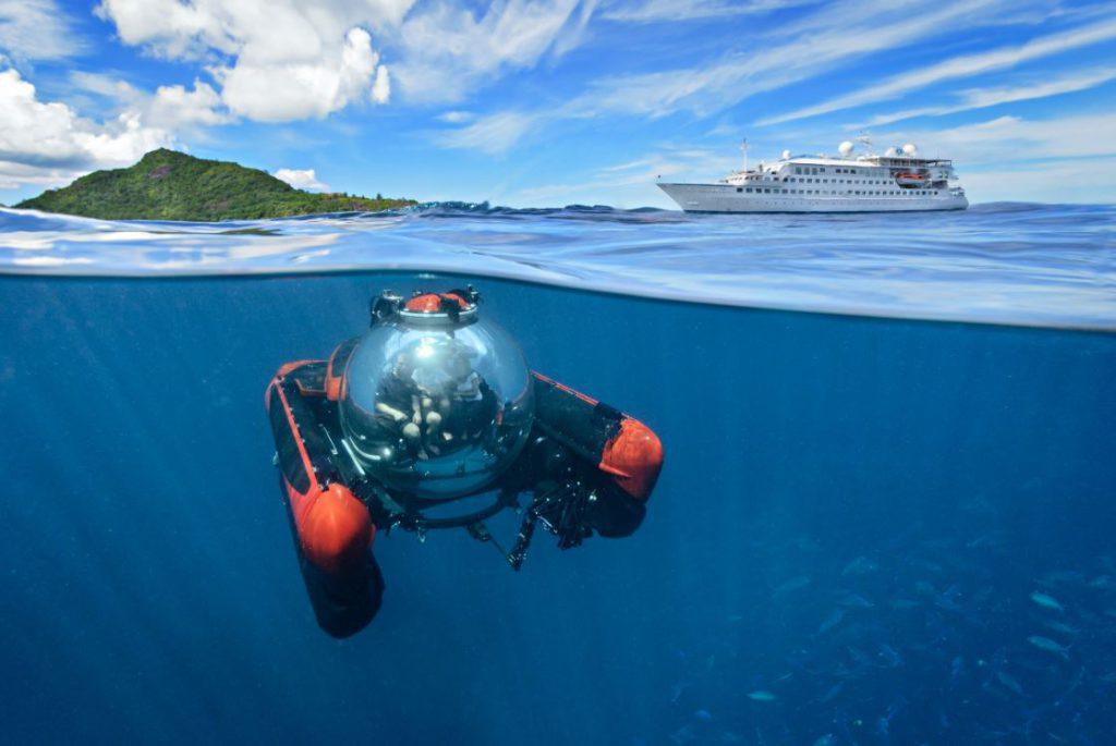 Submersível, Crystal Esprit, Crystal Cruises