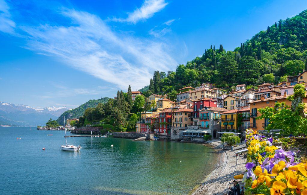 mediterrâneo, Lago di Como