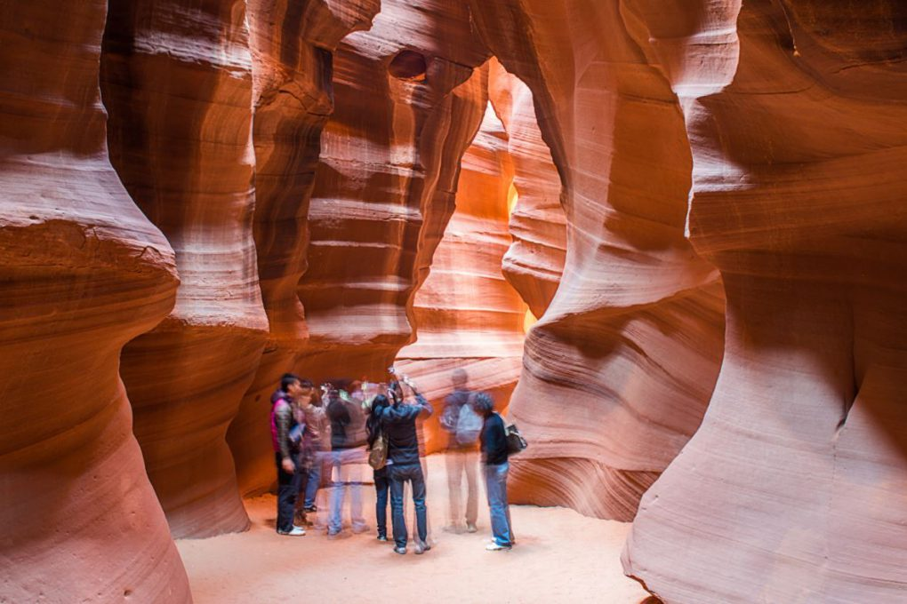 Antelope Canyon, no Arizona