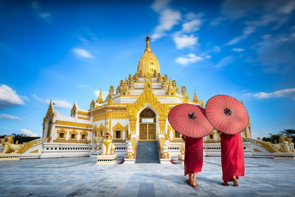 Pagoda de Yangon (Myanmar)
