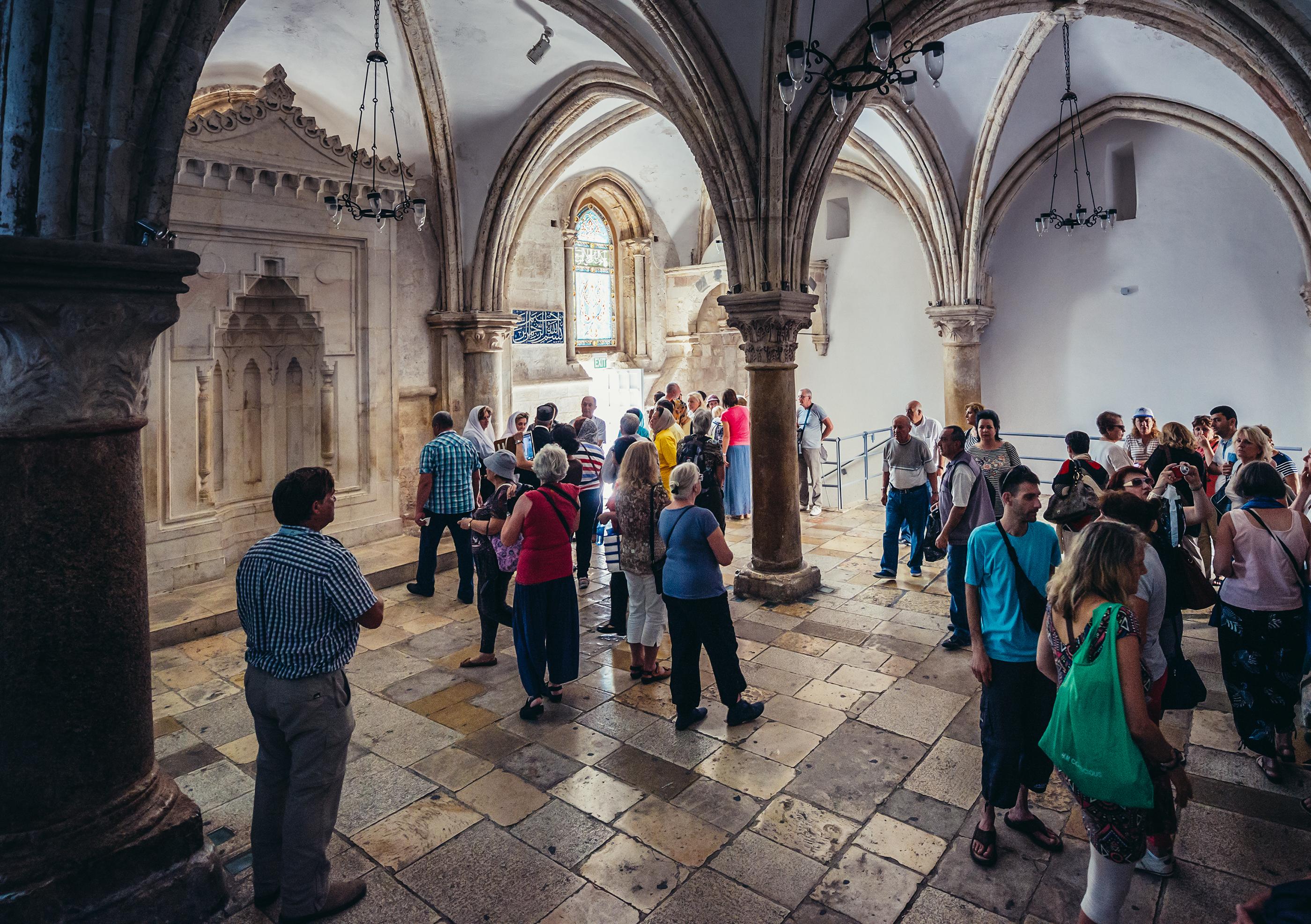 O Cenáculo, lugar onde ocorreu a Última Ceia de Jesus com seus apóstolos - Foto: fotokon/Shutterstock.com