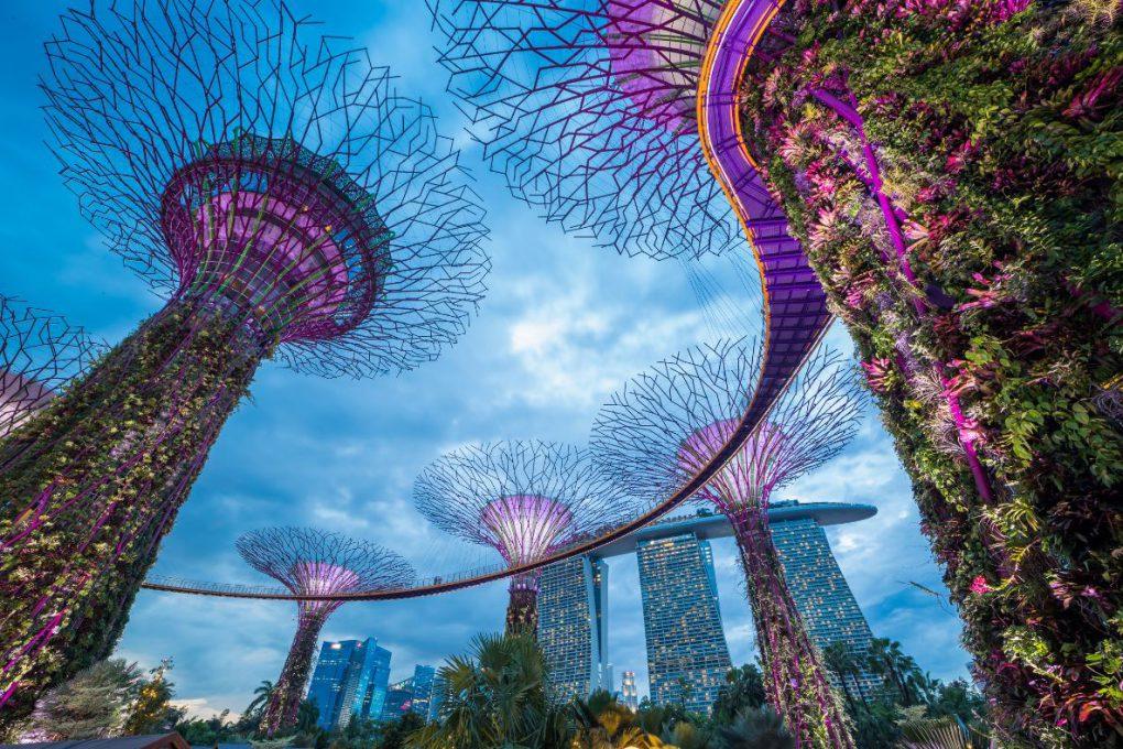 Gardens by the Bay, em Singapura