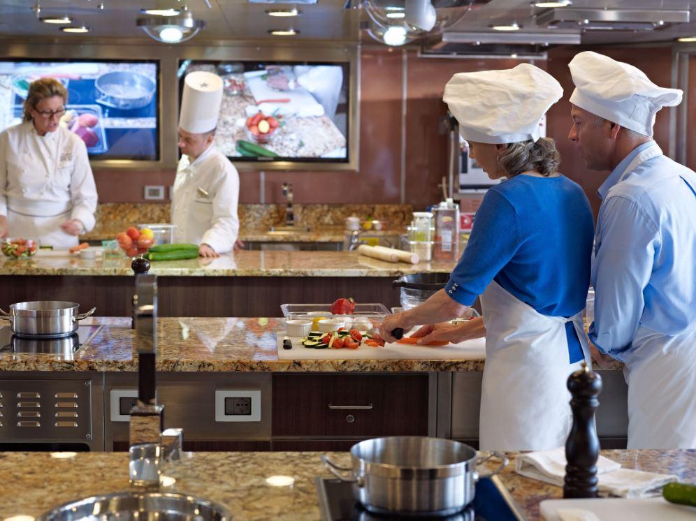 The Culinary Center, única escola prática de culinária no mar