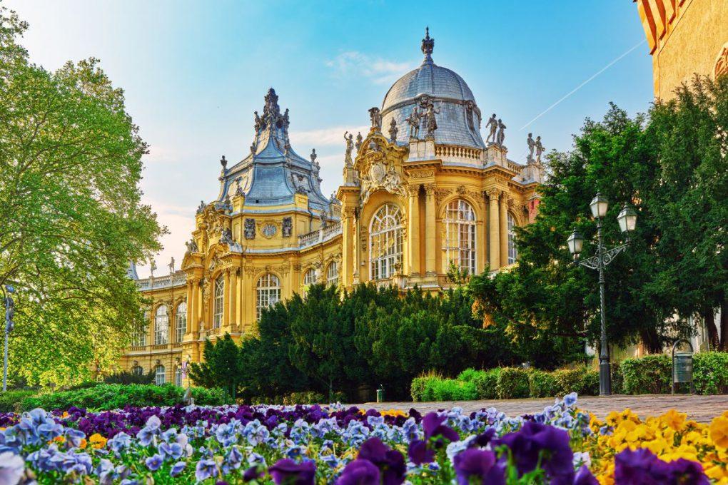 Castelo Vajdahunyad, em Budapeste