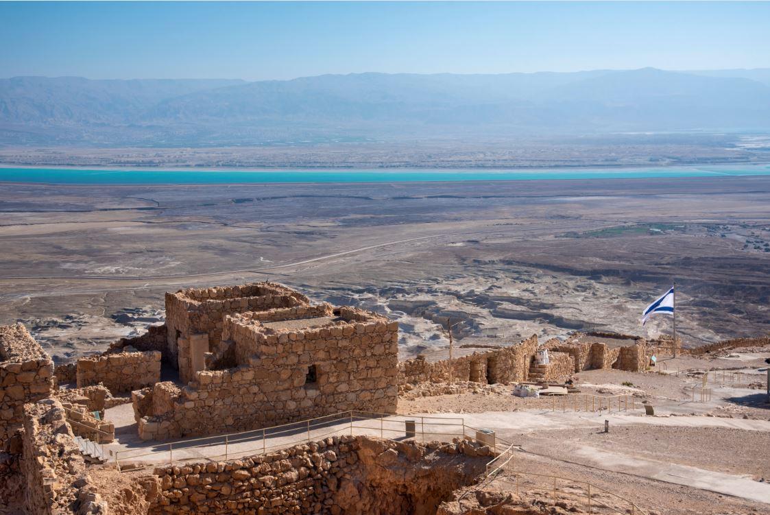 A Fortaleza de Massada, Patrimônio da Humanidade pela Unesco