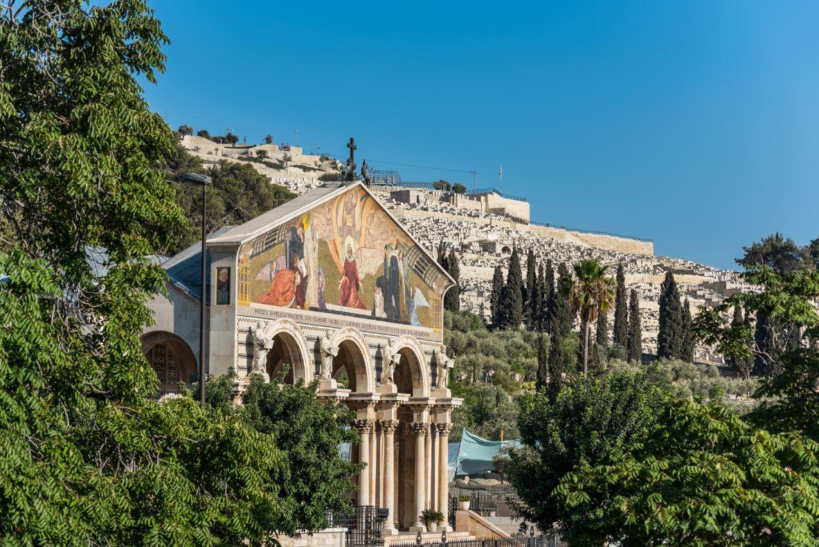 A Igreja de Todas as Nações, também conhecida como Igreja da Agonia