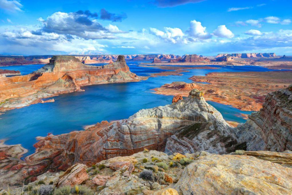 Lake Powell, entre Utah e Arizona