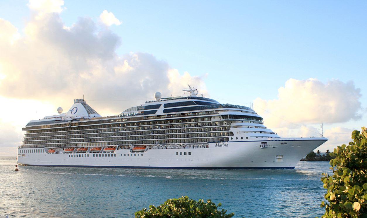 Navio Marina, da Oceania Cruises