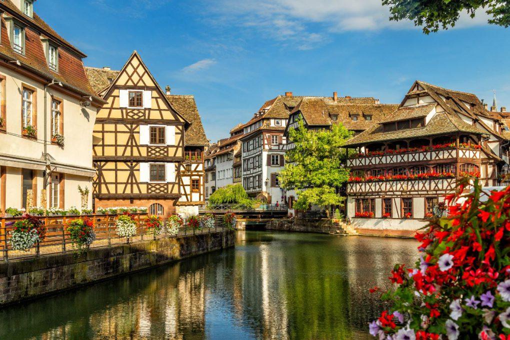 Estrasburgo, cidade no nordeste da França