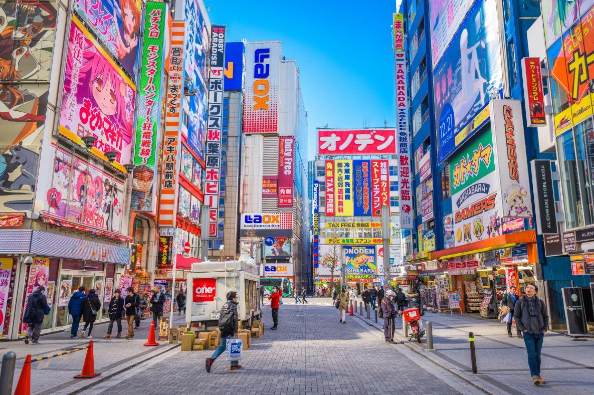 Akihabara é a tradicional opção de compras de eletrônicos - Foto: Sean Pavone/Shutterstock.com