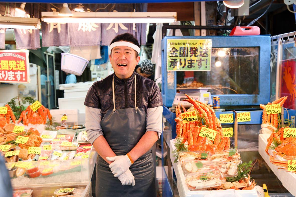 Mercado de Peixe de Tsukiji, o maior do mundo - Foto: Uraiwons/Shutterstock.com