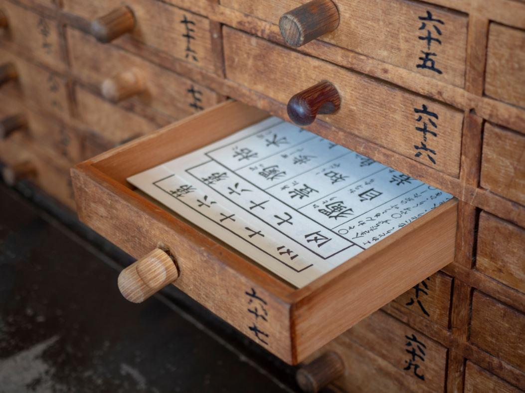 Gavetas com mensagens para orações no Senso-Ji - Foto: Lenush/Shutterstock.com