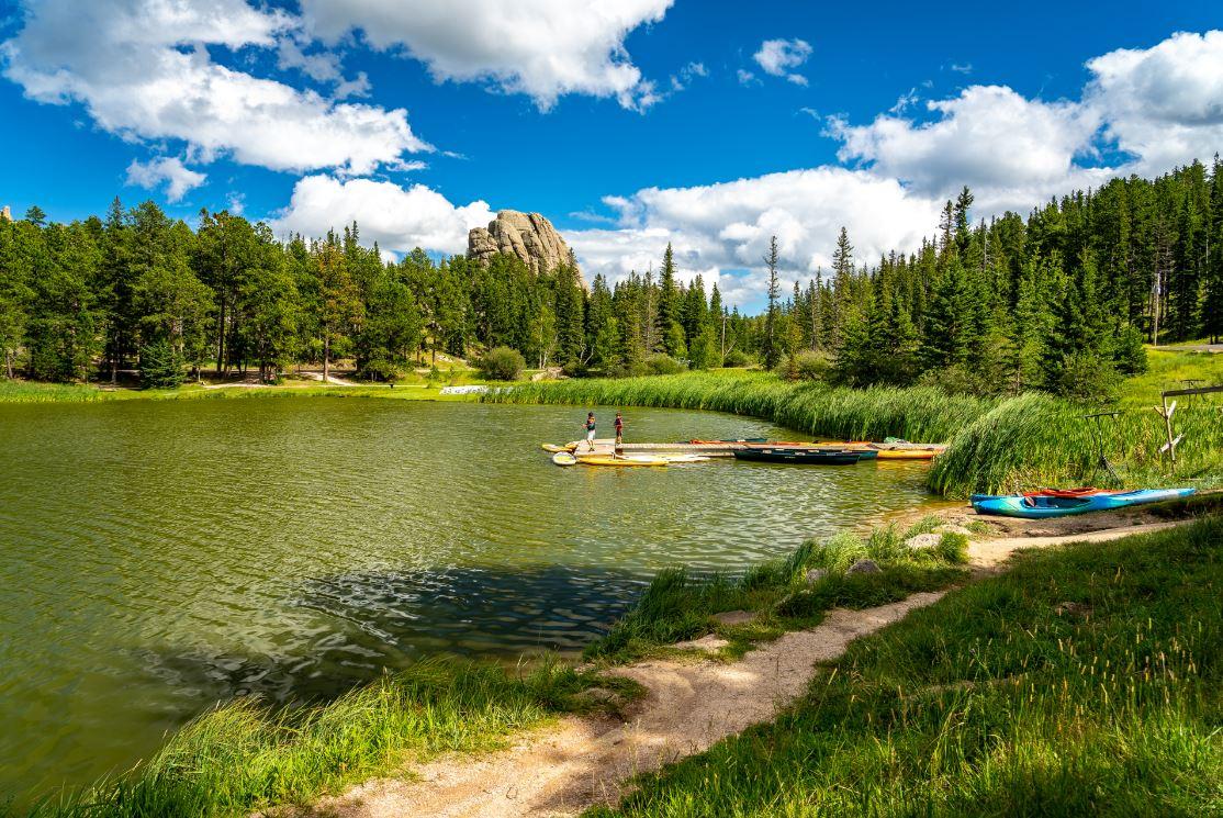 Custer State Park e suas paisagens verdejantes - Foto: Alex Cimbal/Shutterstock.com