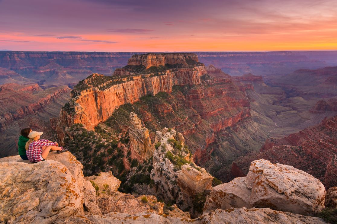 O Grand Canyon e suas paisagens cinematográficas