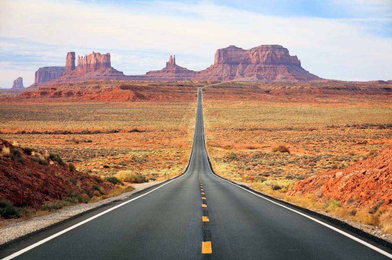 Monument Valley, parque em terras da tribo Navajo