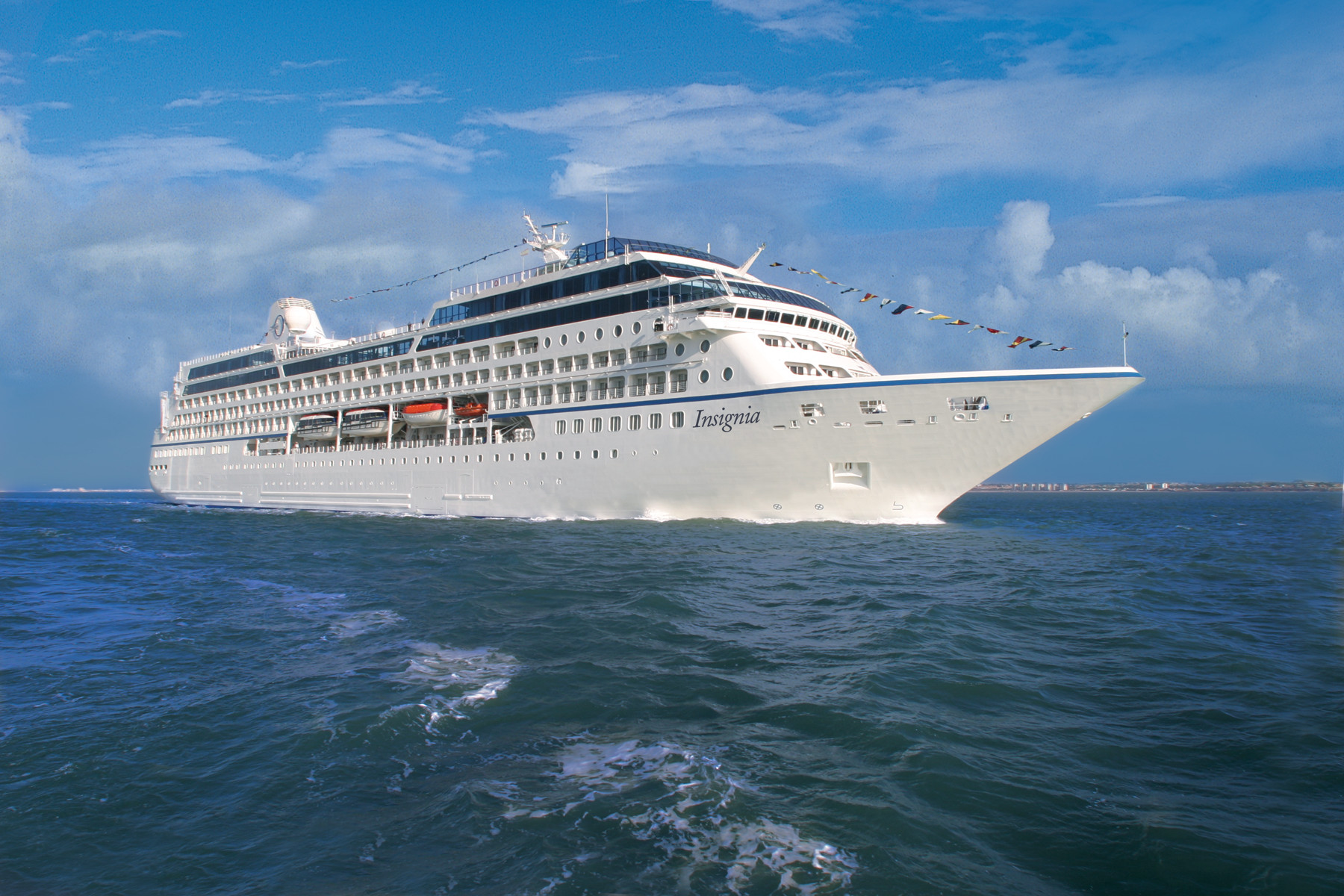 A Oceania Cruises oferece o cruzeiro de Volta ao Mundo em 180 dias, a bordo do Oceania Insignia