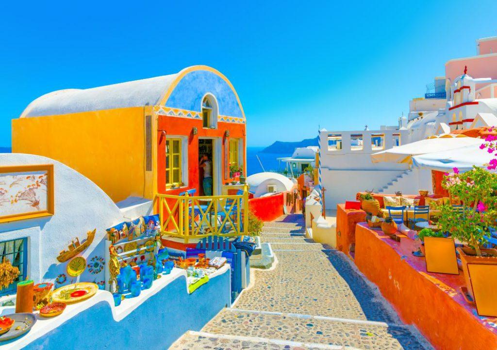 Mykonos e Santorini