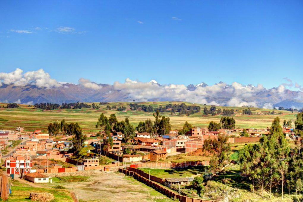 Chinchero, povoado típico com várias construções do período colonial