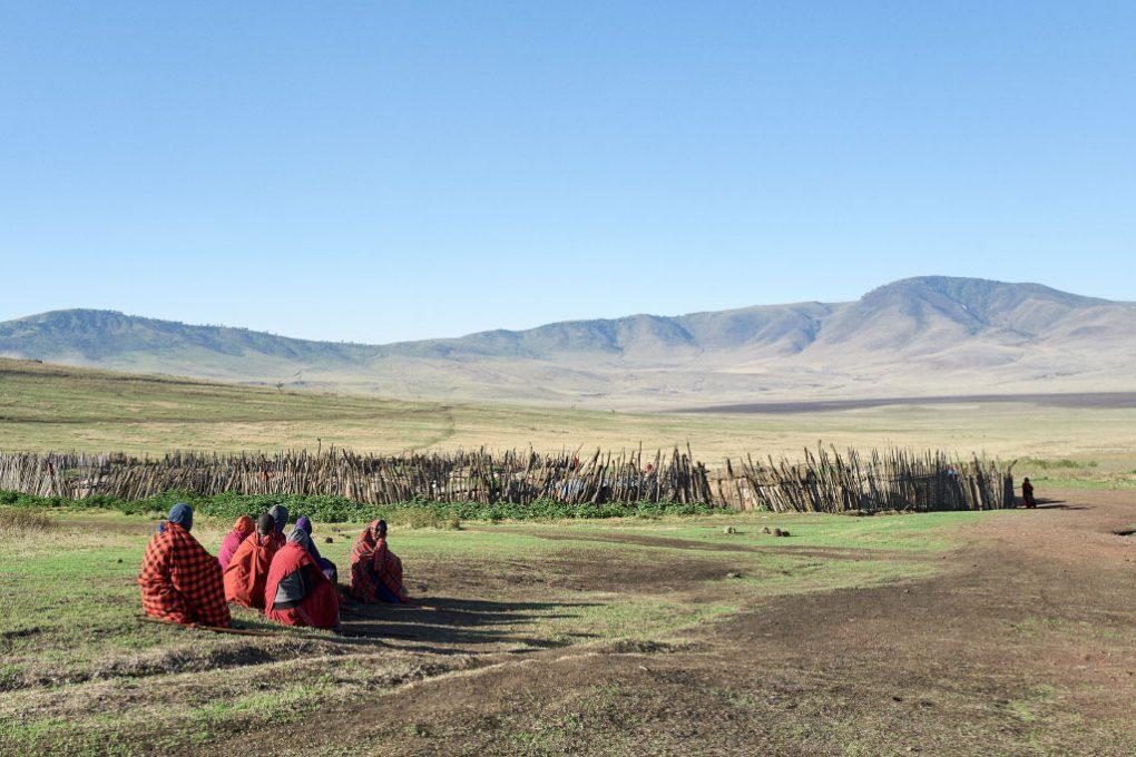 Visita à tribo Masai, na Cratera de Ngorongoro (Tanzânia)