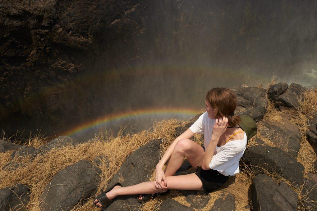 Victoria Falls, grande atração de Zâmbia